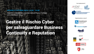 business continuity reputation cyber risk a convegno