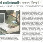 Assicurazione Cyber dalla Cronaca a Corriere Imprese