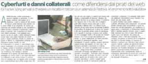 Cesare Burei di Margas su assicurazione cyber e business interruption