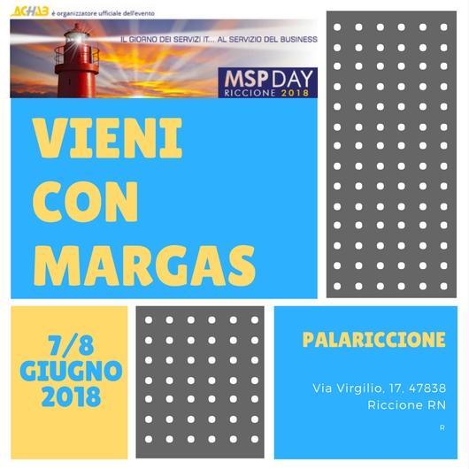 Vieni con Margas all'MSP DAY 2018
