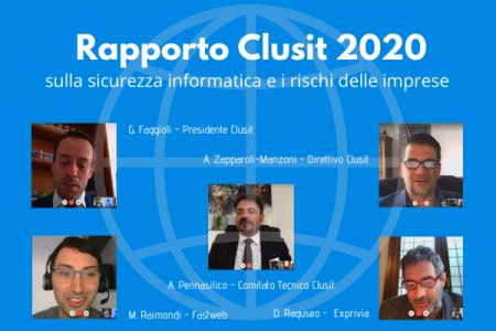 Il Rapporto Clusit 2020 e lo stato della sicurezza informatica in pandemia